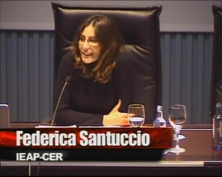 Federica Santuccio - Seminario: Como desenvolver unha estratéxia convincente para conseguir fondos da UE: Qué deben ou non deben facer os actores locais e rexionáis?